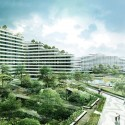"Group8asia Selected to Realize ""Verdant Urban Oasis"" in Singapore Balcony View. Image Courtesy of Group8asia"