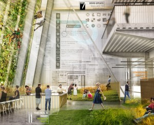 Workplaces of the Future to Abandon the Open Plan and Feed Employees with Sky Gardens