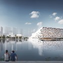 First Images Released of Henning Larsen Architects' Yuhang Opera © Henning Larsen Architects