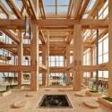 Nest We Grow  / College of Environmental Design UC Berkeley  + Kengo Kuma & Associates © Shinkenchiku-sha