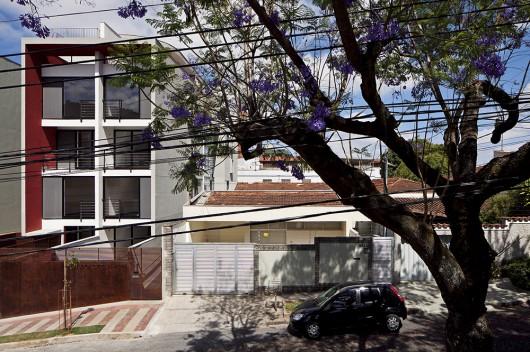 طراحی آپارتمان مسکونی با الگوی تناقض طراحی شهری