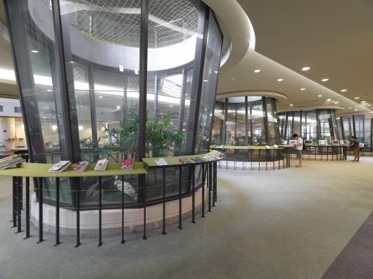 پلان کتابخانه دانشگاه تایپه