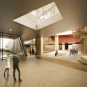 Tsabikos Petras Wins First Prize for Greek Archaeology Museum Proposal Main entrance. Image Courtesy of  Tsabikos Petras Architectural Studio
