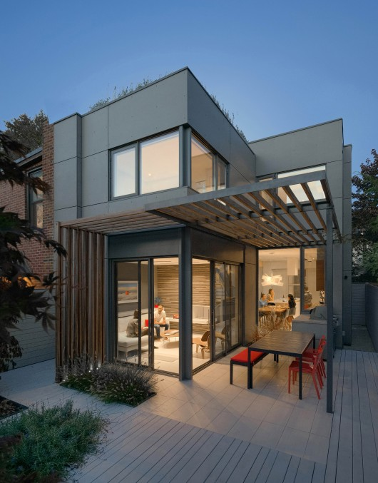 Through House Dubbeldam Architecture Design Arch