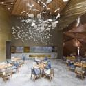 طراحی رستوران چینی Yue