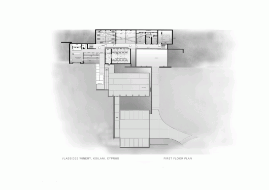 Vlassides winery eraclis papachristou architects archdaily for Winery floor plans by architects