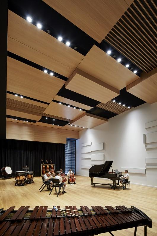 Interior windows architectural - St Kevin S College Victor Mcmahon Music Centre Baldasso Cortese