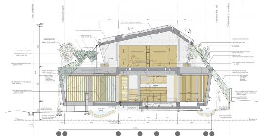 MA of Wind / Ryuichi Ashizawa Architect & Associates 553ef6f4e58ece5029000086 ma of wind ryuichi ashizawa architect associates section 530x280