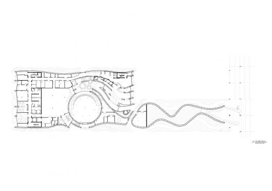 UAE Pavilion – Milan Expo 2015 / Foster + Partners 55484a86e58ece5029000769 uae pavilion milan expo 2015 foster partners ground floor plan copy 530x374