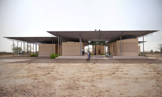 Jaklitsch Gardner Architects Design Beekeeping And Honey Extraction Center For Tanzania 55548a38e58ece16aa000125