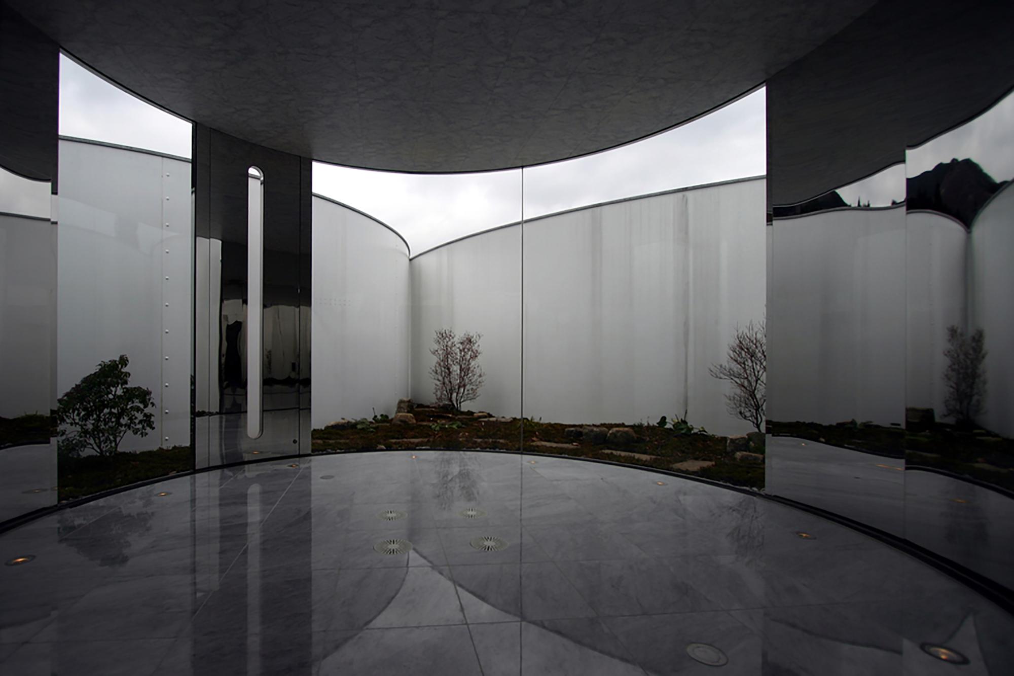 گروه تلگرام گنبد طراحی و معماری موزه ی هنر Tomihiro   آرل