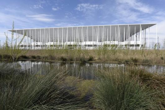 طراحی استادیوم فوتبال بوردو فرانسه