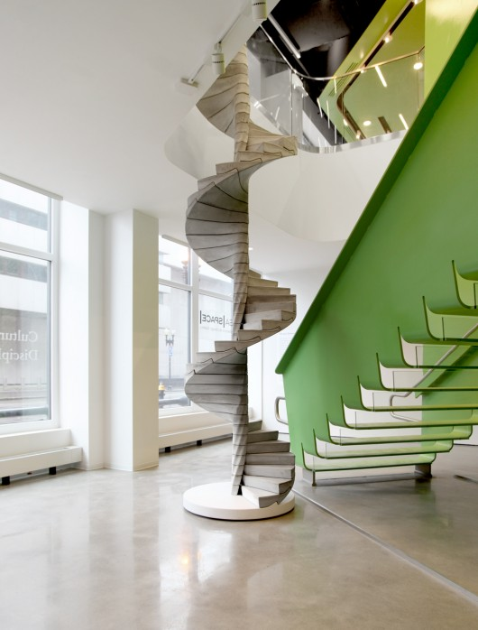 "Matter Design's ""Helix"" Stair Takes Concrete to the Next ..."