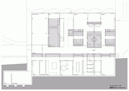 Nursery +E In Marburg / Opus Architekten 5578e190e58eced62800009f nursery e in marburg opus architekten floor  2  530x374