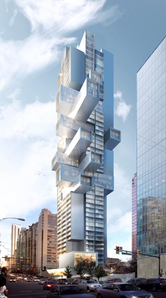B ro ole scheeren unveils the future of vertical housing for Buro architectes