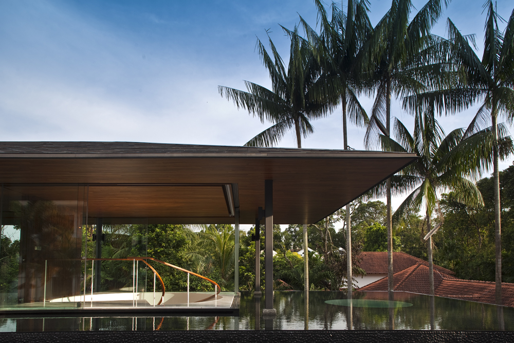 Water cooled house in Bukit Timah, Singapore