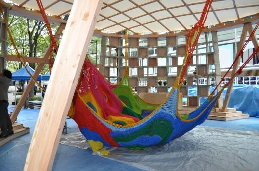 Toshiko Horiuchi Macadam On Her Crocheted Playgrounds