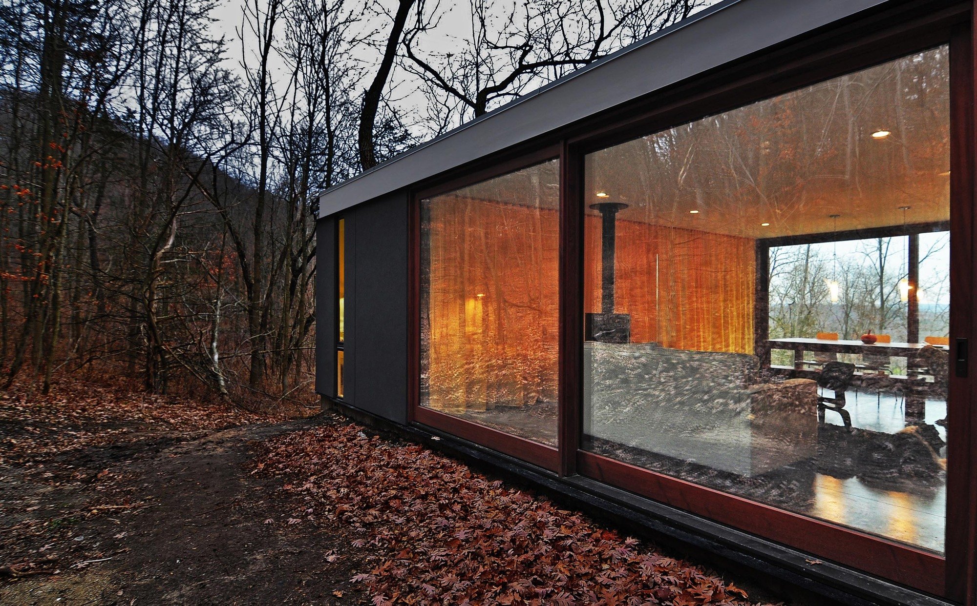 Principles Of Kitchen Design The Stacked Cabin In Muscoda Wisconsin