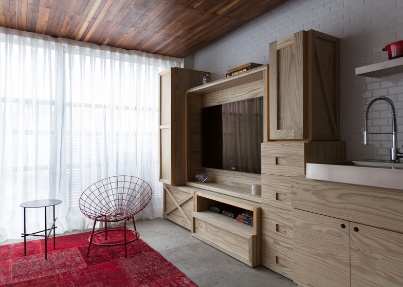 Small Apartment Sao Paulo, by Alan Chu