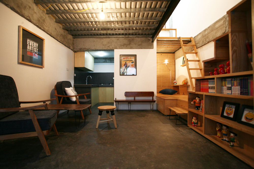 KN House is a Small House That\'s Cosy & Quirky