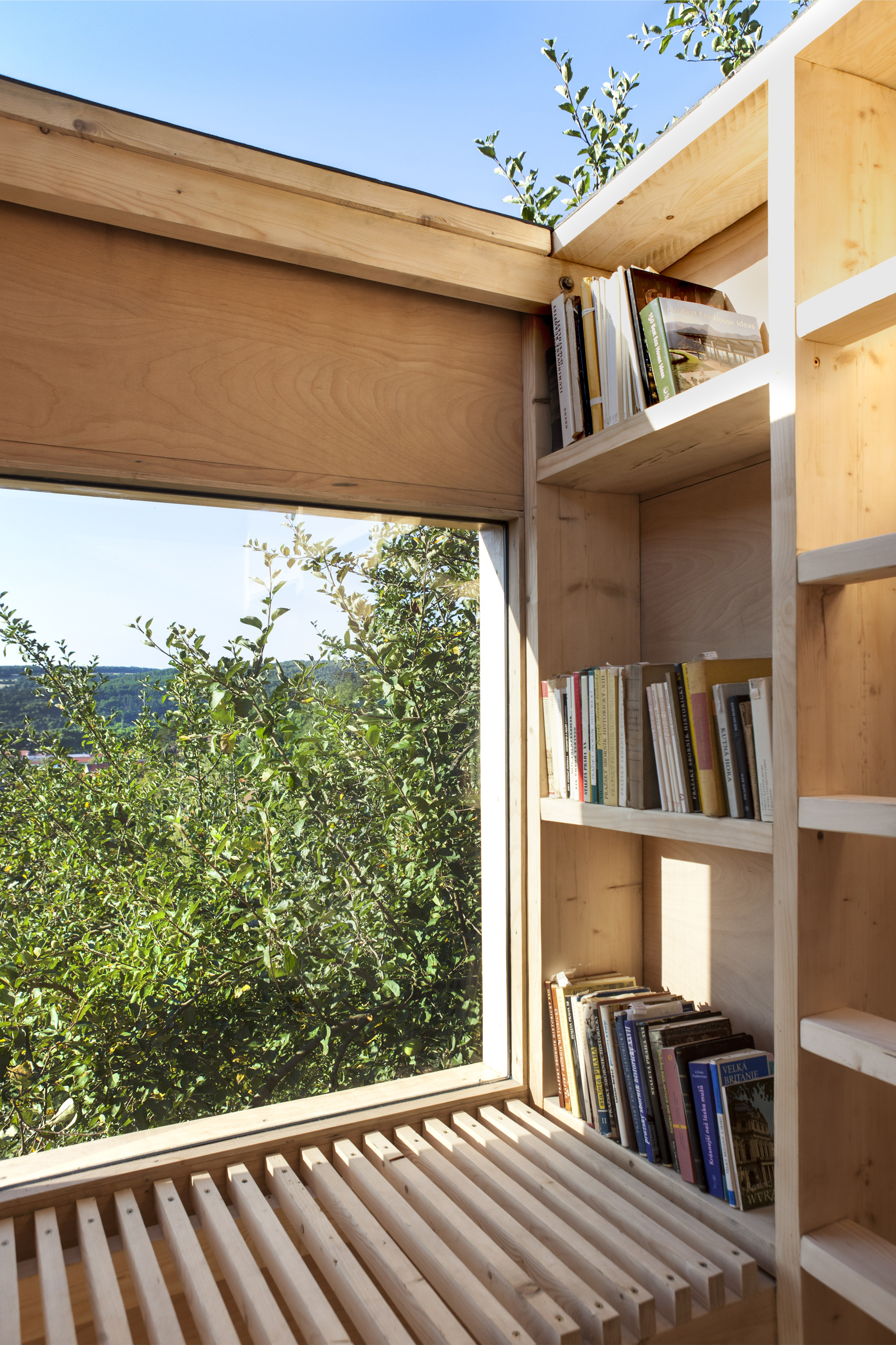 Garden Library by Mjölk architekti - Czech Republic - Humble Homes