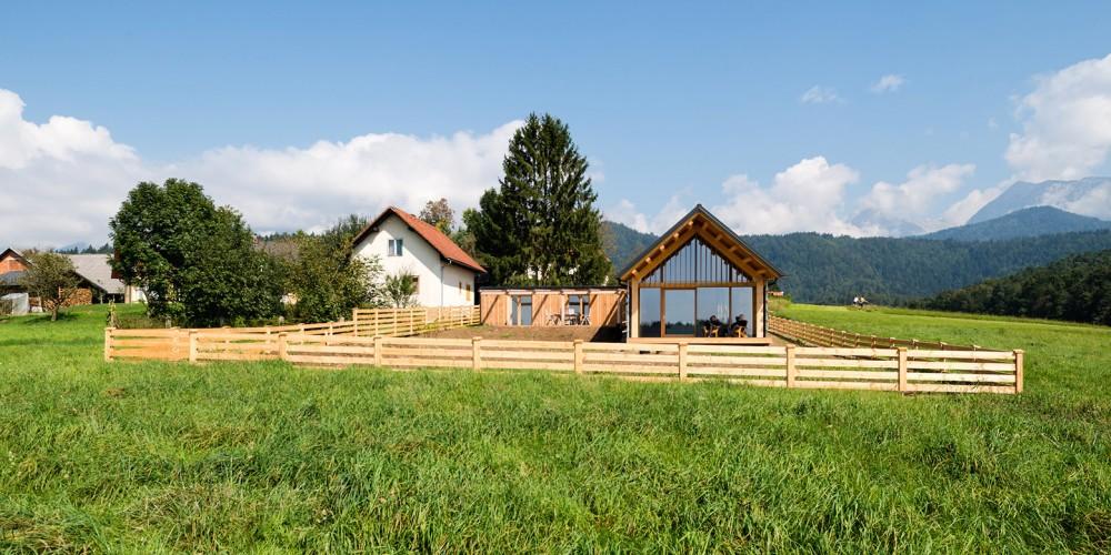 Dům jako stodola